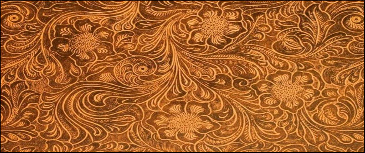 tooled leather
